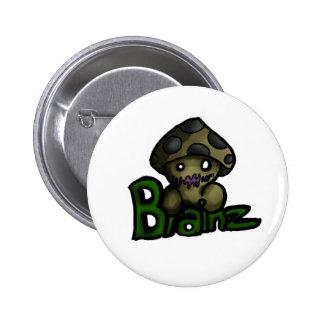Brainz 6 Cm Round Badge
