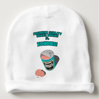 Brainz - Baked Beings Brains for Zombies Baby Beanie