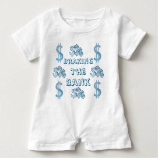 Braking The Bank Baby Romper Baby Bodysuit