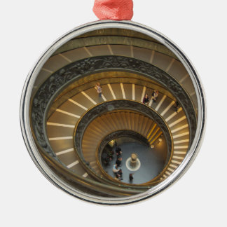 Bramante Staircase, Vatican Museum Christmas Ornament