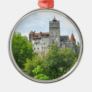 Bran castle, Romania Christmas Ornament