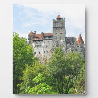 Bran castle, Romania Plaque