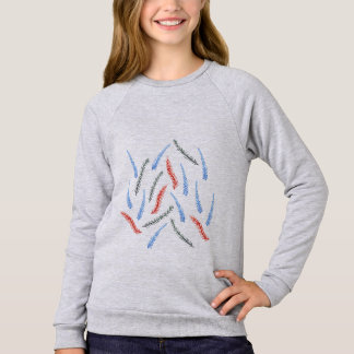 Branch Girls' Raglan Sweatshirt