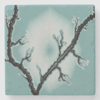 Branch Glow Marble Coaster Stone Beverage Coaster