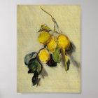 Branch of Lemons Poster