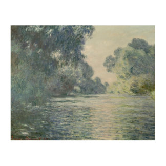 Branch of the Seine near Giverny, 1897 Wood Print