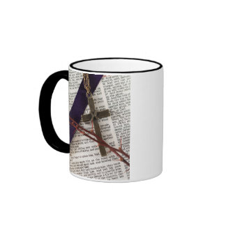 Branch of Thorns and Cross Mugs