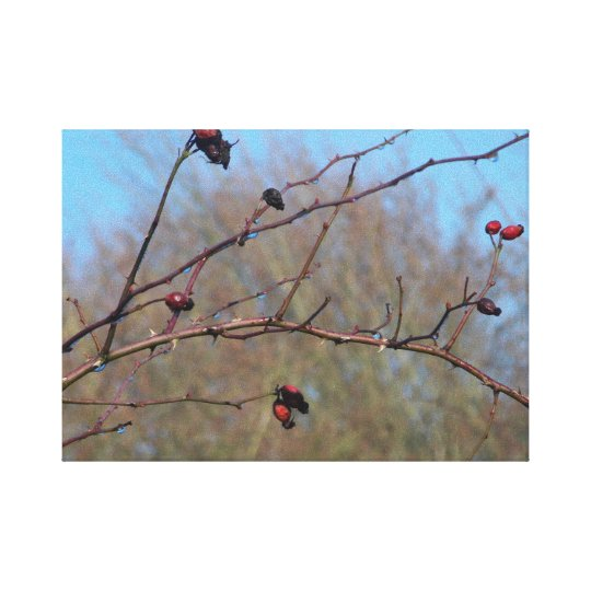 Branch photo canvas