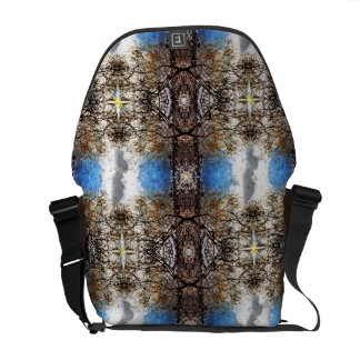 Branch Tapestry Pattern Commuter Bags