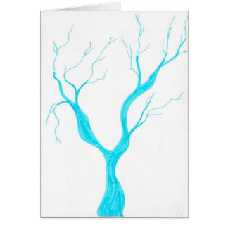 branch twigs greeting card