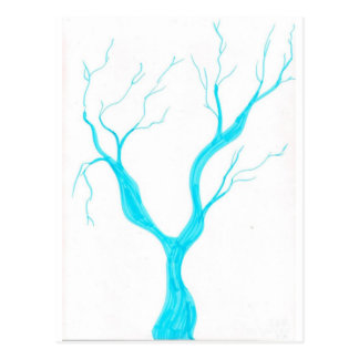 branch twigs postcard