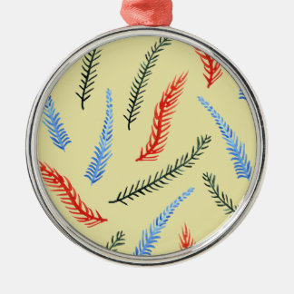 Branches 8 oz Vinyl Wrapped Flask Christmas Ornament