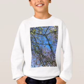 Branches and blue sky sweatshirt