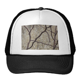 Branches and Dry Grass Mesh Hats