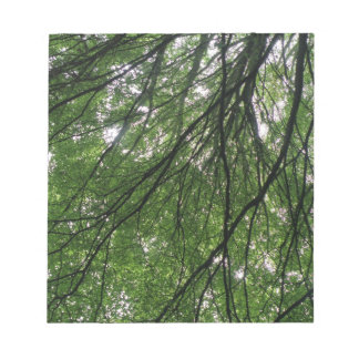 Branches and Leaves Notepad