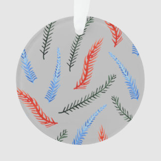 Branches Circle Ornament