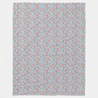 Branches Large Fleece Blanket