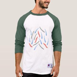Branches Men's Raglan T-Shirt