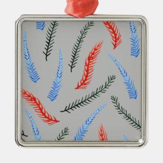 Branches Premium Square Ornament
