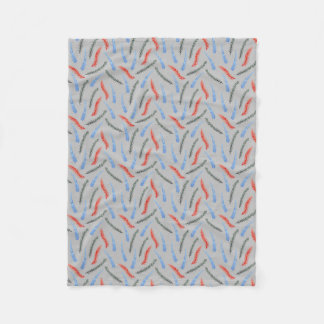 Branches Small Fleece Blanket