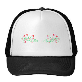 Branches twigs trucker hats