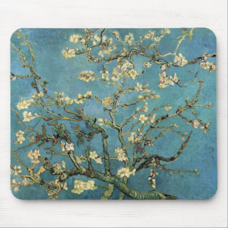 Branches with Almond Blossom by Vincent van Gogh Mouse Mat