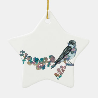 Branching Out. Ceramic Star Decoration