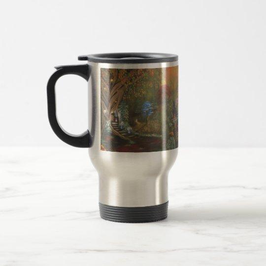 Brancusi Quote Mug. (Travel) Travel Mug