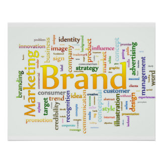 Brand and Marketing  Related Text Posters