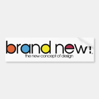 Brand AUTO New Bumper Sticker