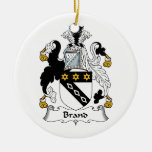 Brand Family Crest Ornaments