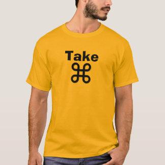 """/Brand Mac Inspired """"Take CMD"""" T-Shirt"""