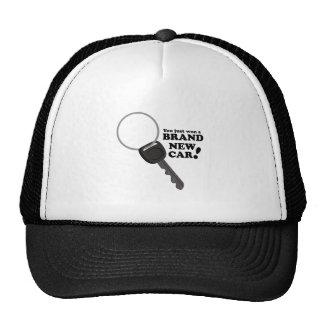 Brand New Car Trucker Hat