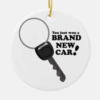 Brand New Car Christmas Ornament
