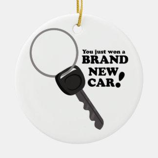 Brand New Car Round Ceramic Decoration