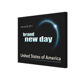 Brand New Day Canvas Print