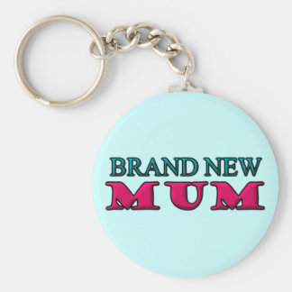 Brand New Mum Key Ring