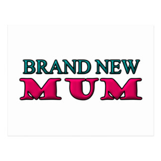 Brand New Mum Postcard