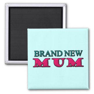 Brand New Mum Square Magnet