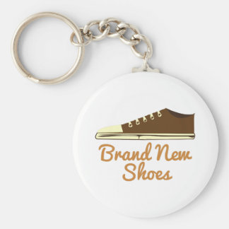 Brand New Shoes Keychain