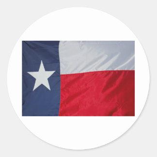 Brand New Texas Flag Round Sticker