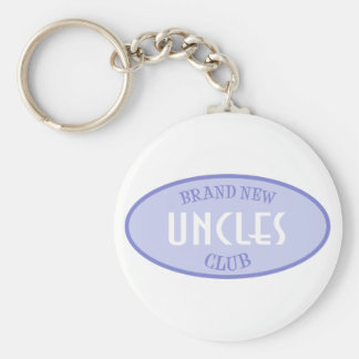 Brand New Uncles Club (Purple) Basic Round Button Key Ring