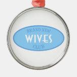Brand New Wives Club (Blue) Christmas Tree Ornaments