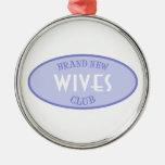 Brand New Wives Club (Purple) Christmas Ornament