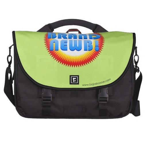 Brand Newb (Starburst) Laptop Messenger Bag