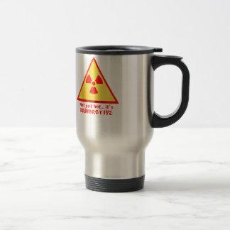 Brand Radioactive Stainless Steel Travel Mug