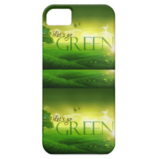 Branded Go Green iPhone 5 Cases