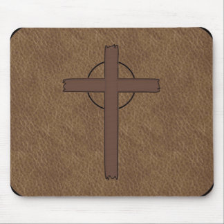 Branded Leather look Mouse Pad
