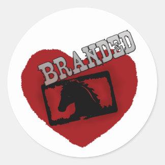 Branded Sticker