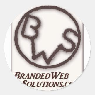 Branded Web Solutions (BWS) Logo Sticker